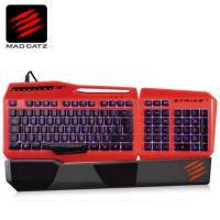 Mad Catz 美加獅 S.T.R.I.K.E. 3 終結者 電競鍵盤(亮紅) / (無現貨 需客訂出貨)
