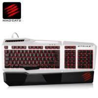 Mad Catz 美加獅 S.T.R.I.K.E. 3 終結者 電競鍵盤(亮白)/ (無現貨 需客訂出貨)