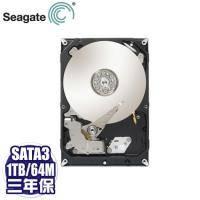 Seagate 1TB(ST1000DM003-3Y) /7200轉/SATA3/64M/三年保固