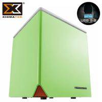 Xigmatek Nebula C / 星雲 C Mini ITX / 綠色 / 標準電源 / U3*2(19pin)