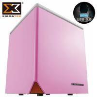 Xigmatek Nebula C / 星雲 C Mini ITX / 粉紅色 / 標準電源 / U3*2(19pin)