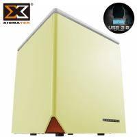 Xigmatek Nebula C / 星雲 C Mini ITX / 黃色 / 標準電源 / U3*2(19pin)