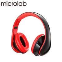 Microlab K360 多功能立體聲多媒體耳機 (含通訊麥克風)(黑)