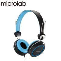 Microlab K300 立體聲多媒體耳機(藍)
