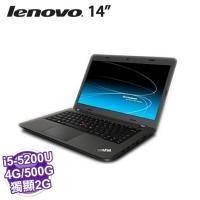 lenovo ThinkPad E450/20DC0019TW【14.0 FHD、i5-5200U、 4GB、500G 7200轉、AMD R7 M260 2GB、Win8.1、兩年保、附包72471..