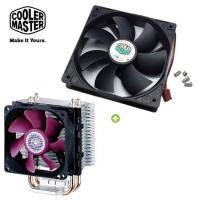 【散熱套餐】CoolerMaster(酷碼) Blizzard T2 mini 暴雪系列 塔型 CPU散熱器+CoolerMaster(酷碼) 12公分 Rifle Silent 風扇1800轉 原價..