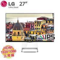 LG 27吋 27MP77HM-P (寬) AH-IPS(RF)/D-sub+HDMI 液晶顯示器(美型)