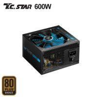 連鈺 T.C.STAR S600電源供應器 (600W 80+銅牌)三年保固一年免費