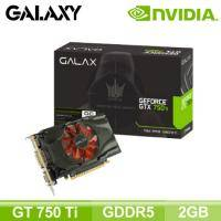 影馳 GALAX 750TI 2G D5 BLACK OC SNIPER LED【2G/核心1072MHz /記憶體5400MHZ】
