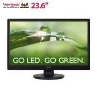 優派 23.6吋 VA2445M LED/TN/1000萬:1/D-Sub+DVI/內建喇叭