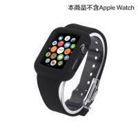apple watch 矽膠錶帶 38mm 黑