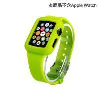 apple watch 矽膠錶帶 38mm 螢光綠