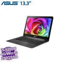 ASUS UX305LA-0081A5200U 黑【i5-5200U/4G/256G SSD/QHD+/W10】13.3吋 QHD+/ IPS 3200x1800 霧面寬螢幕【福利品出清】