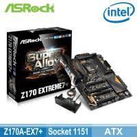 華擎 Z170 Extreme7+(ATX/1D1H1DP/U3S6/M.2/Intel Lan/EX/全金固/四年)