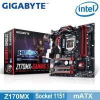 技嘉 Z170MX-Gaming 5(mATX/1H.1DVI/Killer lan/5年保)