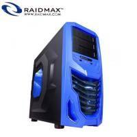 Raidmax雷德曼 COBRA 電腦機殼(藍)/ATX/黑化/USB*2/支援顯卡415mm