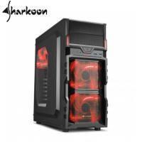旋剛VG5-W red 勁風者(紅)/ATX/黑化/下置電源/U3*2/內建12LED風扇*3