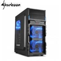 旋剛VG5-W blue 勁風者(藍)/ATX/黑化/下置電源/U3*2/內建12LED風扇*3