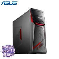 ASUS 華碩 PC G11CB-0041A670GXT 【i7-6700/DDR4 8G*2/1TB+256G SSD/GTX980 4G DDR5/SM/Win10】ASUS ROG 電競機