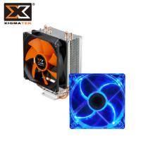 【散熱套餐電競版】Xigmatek Loki II SD963 CPU散熱器/塔型空冷式+Xigmatek 水晶 II 系列 12CM風扇 藍光LED 原價:899 特價:749