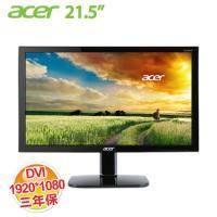 acer KA220HQ 21.5吋 LCD顯示器【1920x1080、D-Sub*1、DVI*1/不閃屏、瀘藍光、三年保】