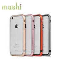 moshi iGlaze Luxe for iPhone 6 雙料金屬邊框-橘