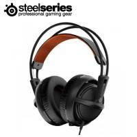 賽睿SteelSeries Siberia 200 西伯利亞200 電競耳罩式耳機麥克風-黑 /伸縮式麥克風/輕量化適合長時間配戴