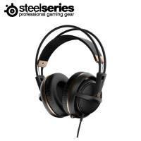 賽睿SteelSeries Siberia 200 西伯利亞200 電競耳罩式耳機麥克風-金 /伸縮式麥克風/輕量化適合長時間配戴