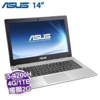 ASUS X450JB-0053D4200H 灰【i5-4200H/4G/1TB/NV-940M 2G/DVD/W10】