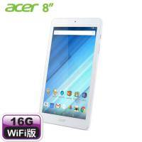 acer Iconia One 8 8吋平板 B1-850-K0ZG 白【MT8163 四核/1G/16G/1280X800 IPS】【福利品出清】