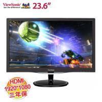 優派 23.6吋 VX2457-MHD Full HD 娛樂顯示器【1920x1080/HDMI、VGA、DP/2W 立體聲喇叭/保固三年 】
