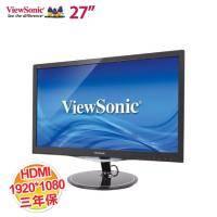 優派 27吋 VX2757-MHD Full HD 娛樂顯示器【1920x1080/HDMI、VGA、DP/2W 立體聲喇叭/保固三年 】