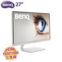 BENQ 27吋 LED VZ2770H 液晶顯示器/不閃屏、低藍光/HDMI/白色/三年保固一年無亮點