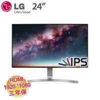 LG 23.8吋 24MP88HV 液晶顯示器 低藍光、不閃屏/AH-IPS/D-sub、DVI、HDMI/三年保固
