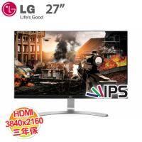 LG 27吋 27UD68-W 4K高級電競液晶顯示器 低藍光、不閃屏/AH-IPS/DP、HDMI/三年保固(客訂商品,除新品故障瑕疵,不提供7天鑑賞期 )