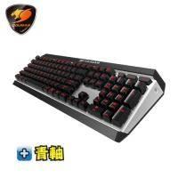 美洲獅Cougar ATTACK X3 機械式鍵盤-Cherry青軸中文/紅光背光/懸浮式按鍵/全鋁上蓋