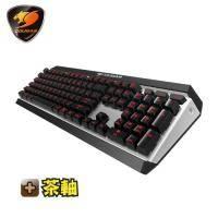 美洲獅Cougar ATTACK X3 機械式鍵盤-Cherry茶軸中文/紅光背光/懸浮式按鍵/全鋁上蓋