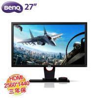BENQ 27吋 XL2730Z 液晶顯示器 (低藍光 不閃屏/2560X1440/D-SUB/DVI/HDMI/DP/三年保固一年無亮點)