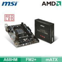 微星 A68HM GRENADE(mATX/2*RAM/U3S6/HDMI+DVI+S-DUB/19pin)