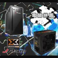 【電競拼圖】杰強 JP-1U0B黑旋風II USB 3.0+Xigmatek 暴力媽 400W 一年保固 (工業包)