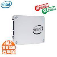 Intel 540s系列 1TB(2280)/M.2 SATA/讀:560M/寫:480M/五年