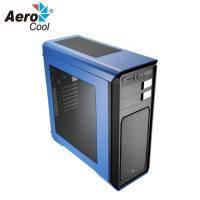 Aerocool Aero-800 透側 電競電腦機殼 藍色