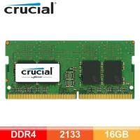 美光 Micron Crucial NB-DDR4 2133-16G RAM