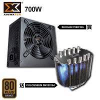 【無敵拼圖】Xigmatek Shogun 700W 80+ 銅全日系電容電源供應器 送 Colosseum SM128164 小巨蛋 塔型 CPU散熱器