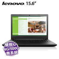 lenovo 100 15IBD 80QQ000RTW【i3-5005U/4G/500G/DVD/NOOS/1年保】IdeaPad 系列