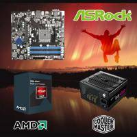 【高興價】Athlon II X4 845 3.5GHz(S2.0靜音風扇)+華擎 FM2A88M Pro3+New GX 450 電競版