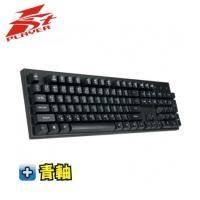 1st Player BS-BLUE3T Firerose火玫瑰 機械式鍵盤/有線/青軸/中文