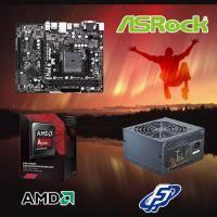 【高興價】A8-7650K 3.3GHz(S2.0靜音風扇)+華擎 FM2A88M-HD+ R3+全漢 黑武士 350W