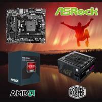 【高興價】Athlon II X4 845 3.5GHz(S2.0靜音風扇)+華擎 FM2A88M-HD+ R3+New GX 450 電競版