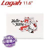 Hello Kitty Grace11 四核筆電【3735F/2G/32G/11.6吋/W10/內含Hello Kitty內袋】【福利品出清】